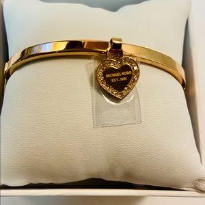 Michael Kors stainless steel bracelet